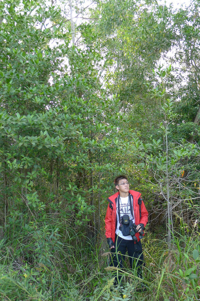 Ivan Kwan, the founder of Nature Adventures SG, in his natural habitat.